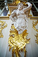 Jordan Staircase of the Hermitage Museum. (Winter Palace). St Petersburg. Russia.