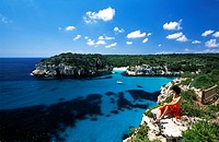 Menorca, Balearic Islands, Spain, Mediterranean co
