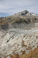 Switzerland, Canton of Valais, Furka, glacier, Rho