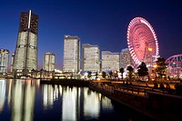 Minatomirai buildings