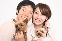 Couple and dogs (thumbnail)