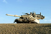 M1A1 Abrams tank