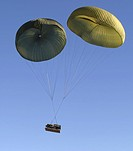 Air Delivery Platoon dropped heavy equipment from a C_17