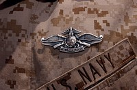 The Enlisted Fleet Marine Force Warfare Specialist pin