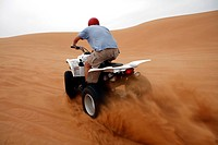 quad, desert, sand, sport