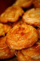 Traditional cakes called Kouign Aman, Brittany, France