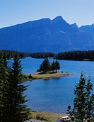 River, nature, lake, mountain, scene, tree, landscape (thumbnail)