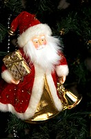 Father Christmas, red, magic, gift, present, holidays
