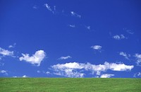 background, blue, cloud, clouds, day, grass, grass country