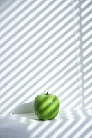 green, apple
