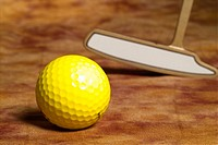 Sports equipment, club, golf, leisure, sports, golf ball, ball (thumbnail)