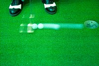 Hole, leisure, ball, putter, club, sports (thumbnail)
