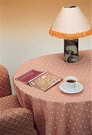 bedroom item, sofa, house item, book, coffee, table