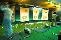 driving range, leisure, swing, ball, club, sports