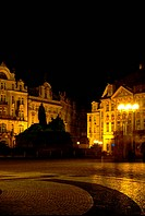night view, scene, prague, Czech, Europe, tourist resort