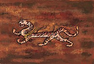 mythology, tiger, mythical, myth, tradition, creature, animal