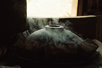 Traditional oven smoking