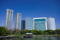 Shiodome high_rise buildings