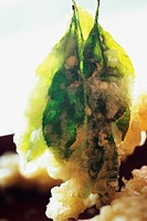 Leaf tempura