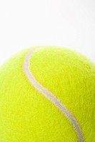 Detail of a tennis ball