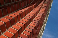 bricks, arrangement, pattern, wall, architecture, appearance