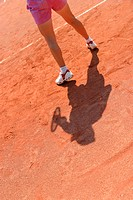 person, outfit, attire, sporty, sports, tennis