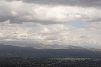Cloud, Hill, Day, Dark, Aerial View