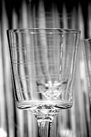 B&amp;W, black and white, drinking glass, glass, glassware, fragile