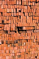 Brick, Collection, Close_Up, Building, Arrangement