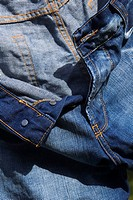 Button, Casual Clothing, Close_Up, Day, Denim