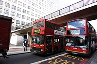 bridge, building, bus, day, double_decker