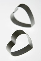 Black And White, Close_Up, Cut Out, Heart Shape, Indoors