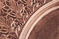 Brown, Carving, Close_Up, Curve, Full Frame