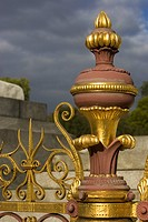 Close_Up, Cloud, Fence, Gate, Gilded