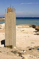Building, Coastal Feature, Column, Concrete, Construction