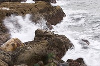 rocks, stone, wave, sea, ocean, splash
