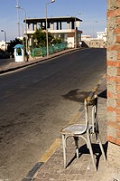 Brick Wall, Building Exterior, Building Structure, Chair, Day