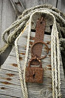 Boat, Close-Up, Day, Lock, Metal (thumbnail)