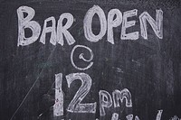 Black, Blackboard, Capital Letter, Chalk, Close_Up