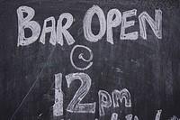 Black, Blackboard, Capital Letter, Chalk, Close_Up