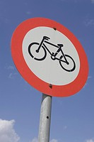 Bicycle, Blue, Circle, Clear Sky, Close_Up