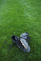Shoes, Day, Grass, Green, Ground