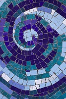 Blue, Close-Up, Full Frame, Green, Mosaic (thumbnail)