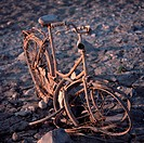 bike, accident, bicycles, bicycle, Bernhard, abenddaemmerung