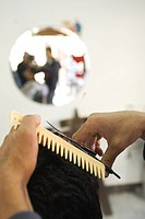 Barber, Barber Shop, Close-Up, Comb, Cutting (thumbnail)