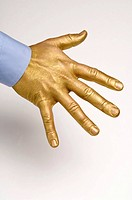 gilded, gilt, gold, golden, hand, goldy, human