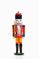 Still life of Christmas toy soldier