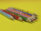 Writing instrument, multi colored pencil, school stationery, stationery, business supplies, pencil (thumbnail)