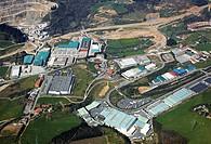 Erratzu industrial area, Urnieta, Gipuzkoa, Basque Country, Spain