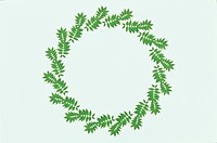 The Round Frame Of Leaves (thumbnail)